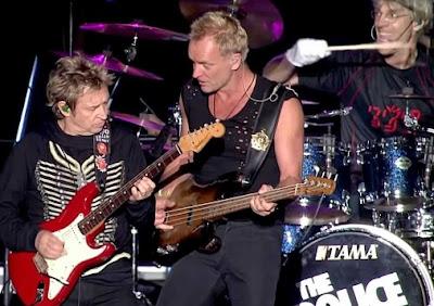 Foto de The Police tocando en concierto