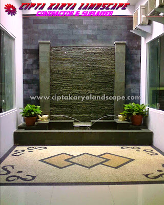 kolam hias minimalis | CIPTA LANDSCAPE : jasa tukang taman