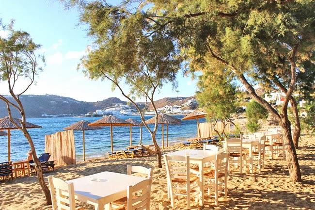 Paraga beach taverna