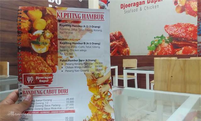 Djoeragan Dapoer Malang: Sensasi Kepiting Hambur Yang Menggoda Selera