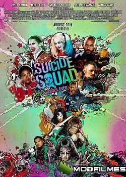 Capa do Filme Esquadrão Suicida