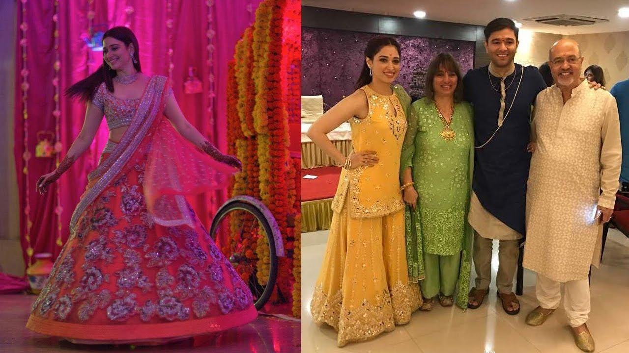 Tamanna bhatia s brother anand bhatia and kiruthika wedding