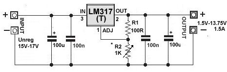 How To Build A Variable Dc Voltage Regulator Circuit