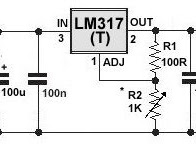 Dc Voltage Regulator Wiring Diagram