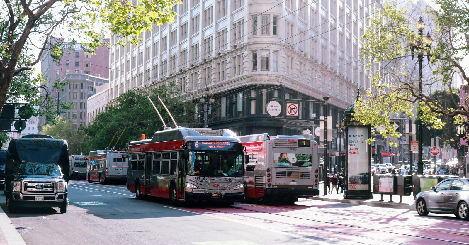Đi lại bằng phương tiện công cộng ở San Francisco