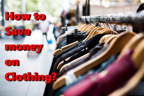 How to save money on clothes?