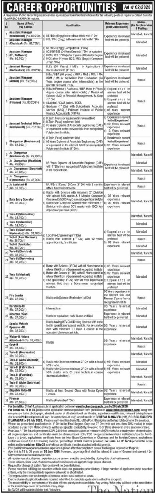 Govt of Pakistan Ministry of Housing and Works  2020