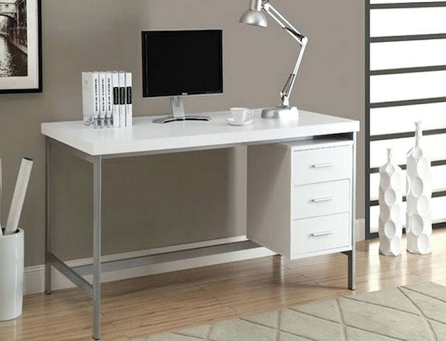 best buy white home office furniture clearance for sale