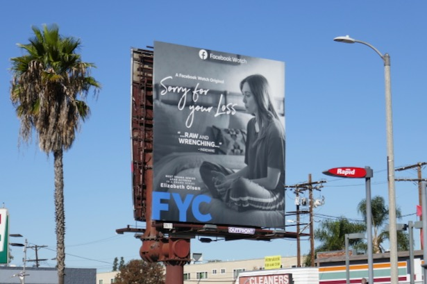 Sorry for Your Loss season 2 FYC billboard