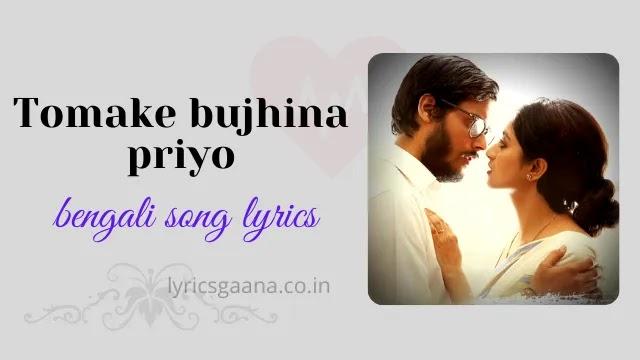 Tomake Bujhina Priyo Lyrics Meaning In English