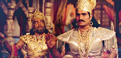 kumar hegde as duryodhan in shri krishna serial