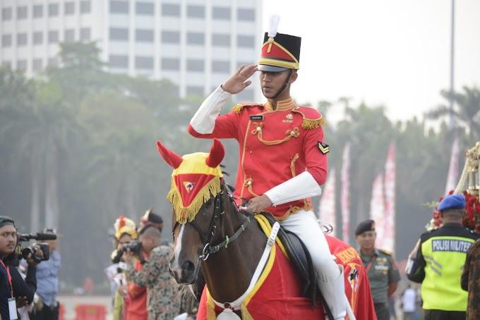 Denkavkud, Pasukan Berkuda Pengawal Bendera Merah Putih Dan Naskah Proklamasi