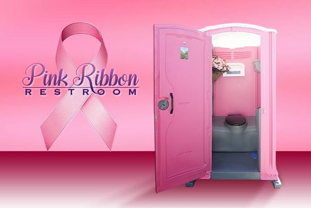 Order the Pink Ribbon Toilet Online