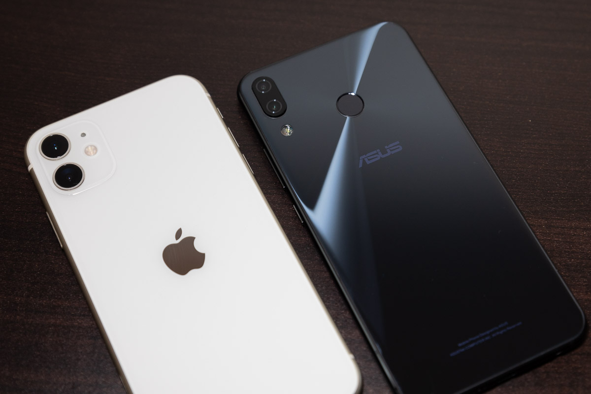 Zenfone5 trans to iPhone11