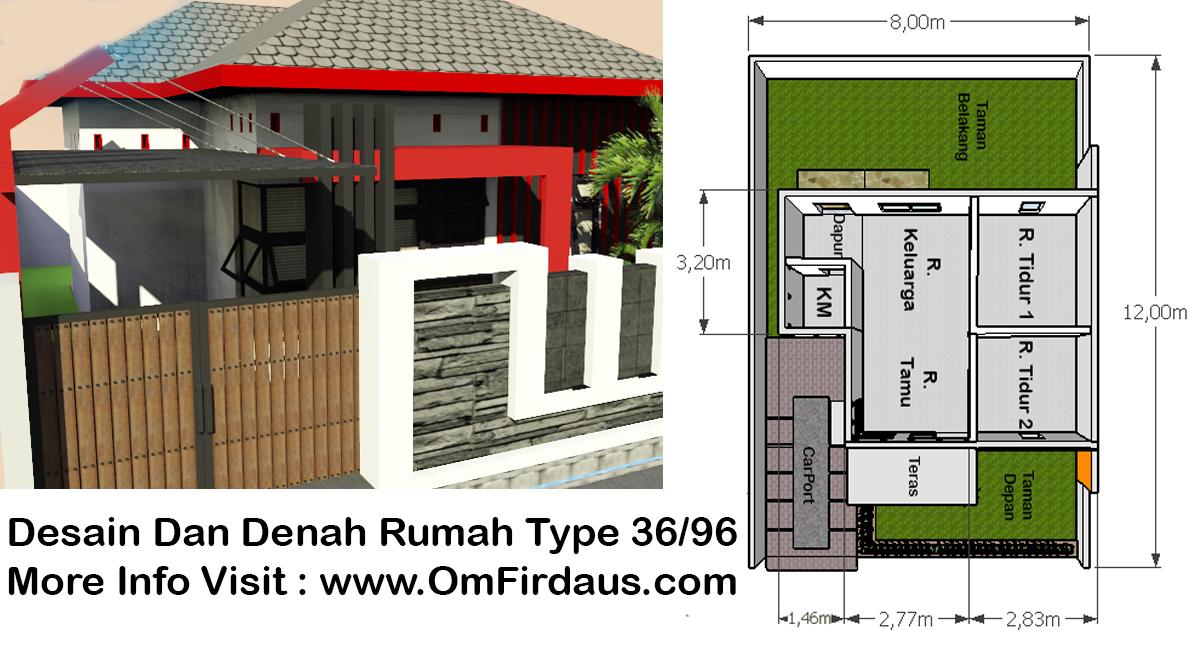 Desain Rumah Minimalis Sederhana Type 36 96 Inspirasi Desain
