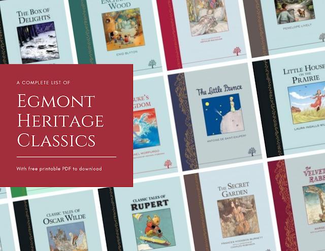 Egmont Heritage Classics Banner