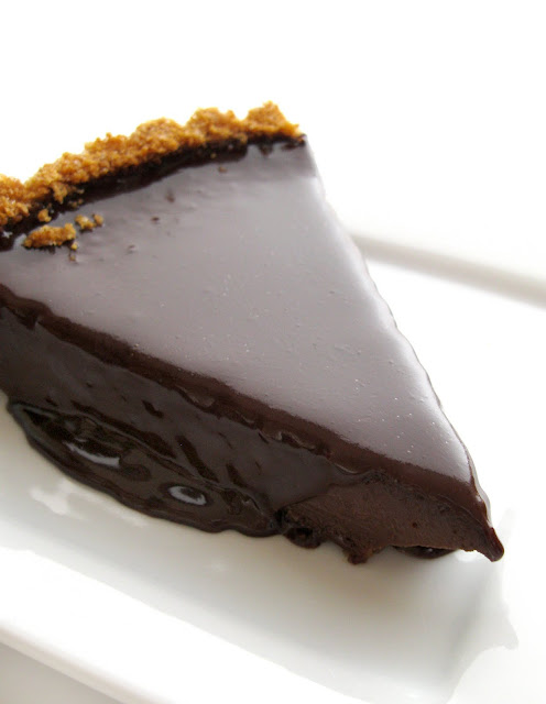Easy No bake Chocolate tart