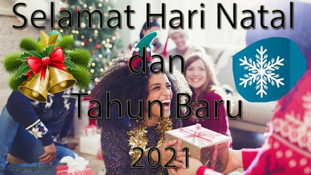 Selamat Hari Natal dan Tahun Baru 2021 - Casual Version