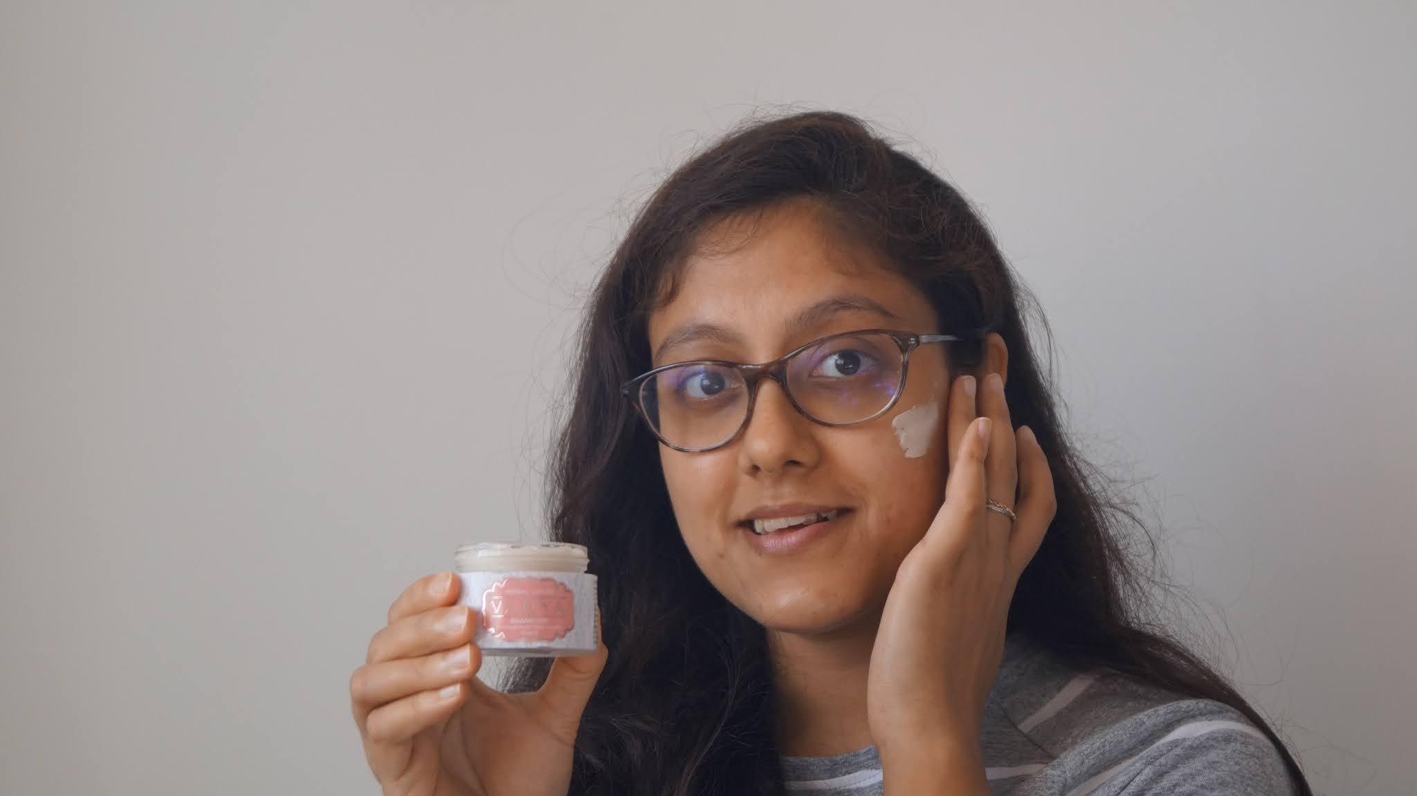 Vanya herbal face cream review pomegranate