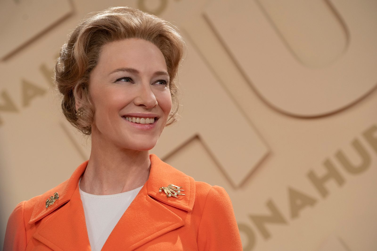 Cate Blanchett en una escena de 'Mrs America', serie de HBO España