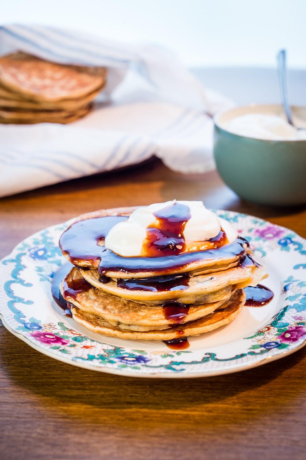 Jennifer Irvine's California Prune And Orange Pancakes