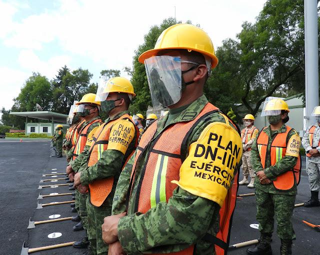 El Ejército Mexicano cuenta con 8 Batallones de Ingenieros de Combate para aplicar el Plan DN-III-E