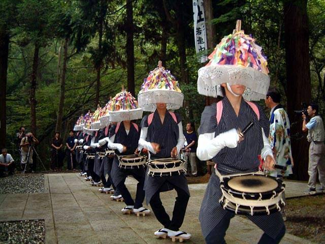 Kutani Zanzaka Odori (Dancing parade), Mikata, Hyogo