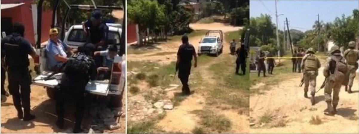 Balacera entre comando armado y civiles en Choapas; un menor resulta herido