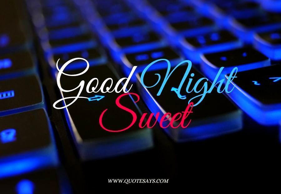 Good Night Blue Light Keyboard