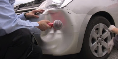 Tips Memperbaiki Mobil Jazz Penyok