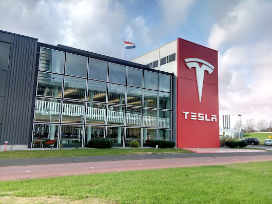 Tesla Amsterdam Zuid-Oost Netherlands Showroom, Service Center and European Headquarters