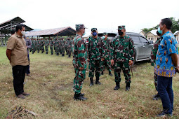 Brigjen TNI Izak Pangemanan Tinjau BKO dan Lahan Kodim Baru di Keerom