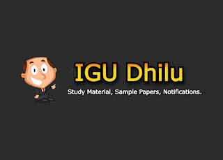 igu dhilu, igu, igu meerpur, igu admission