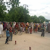 Photos: IDPs in Maiduguri protest on the street Over Lack Of Basic Needs
