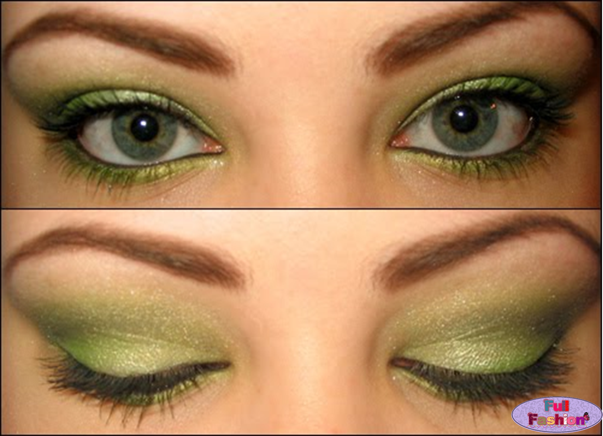 Full Fashion (Tips Para Chicas): Maquillaje Para Ojos Verdes