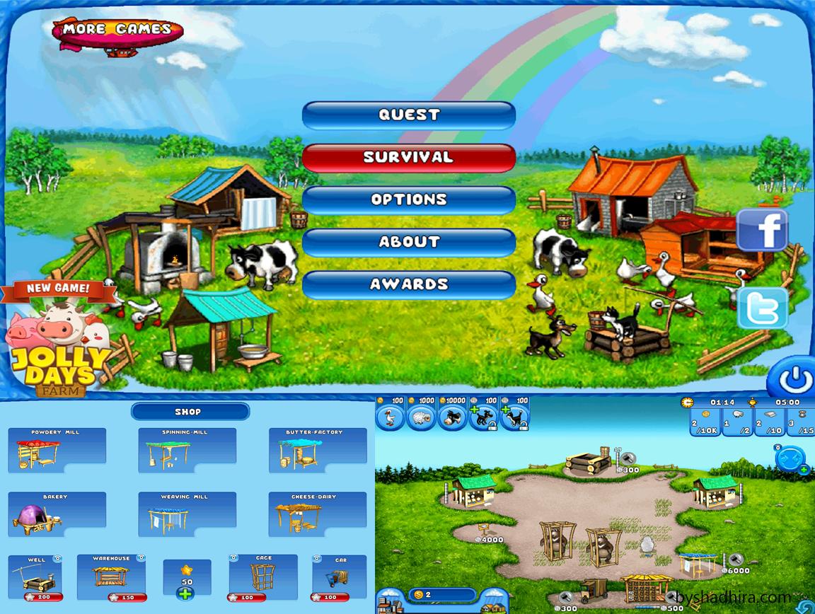 farm frenzy game