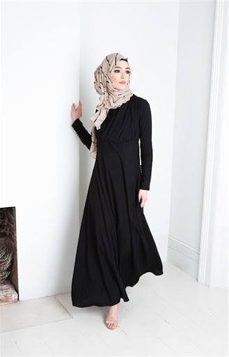 model abaya simple terbaru