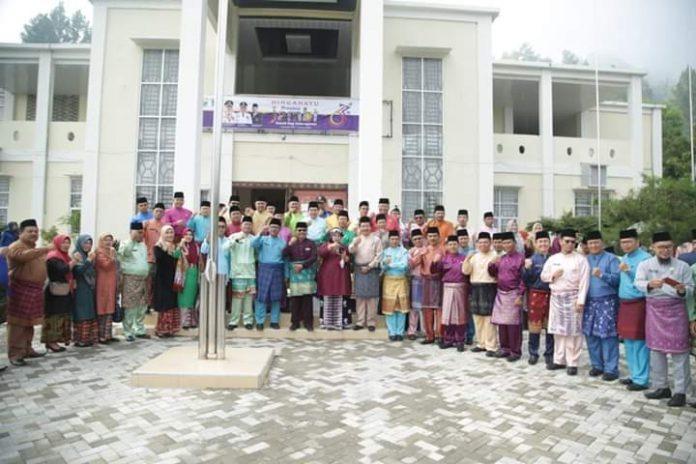 Wako AJB Pimpin Upacara HUT Provinsi Jambi ke-63