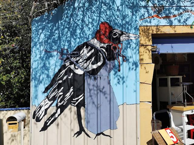 Warrimoo Street Art   Blinky Bill Mural by Bob Treasure