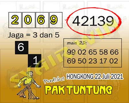 Prediksi Pak Tuntung Togel Hongkong Kamis 22 Juli 2021