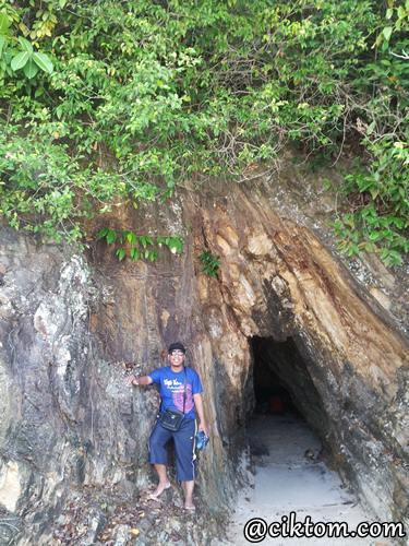 aktiviti santai di pulau kapas