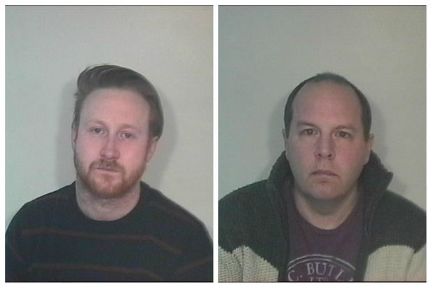 JAILED: Paedophiles James Bould and Andrew Lynes