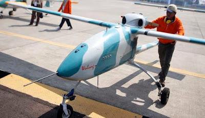 Drone Militer Supercanggih