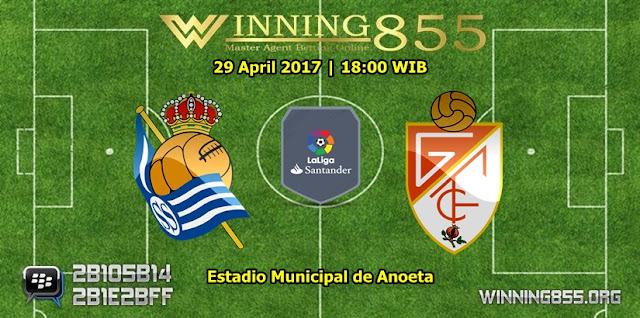 Prediksi Skor Real Sociedad vs Granada 29 April 2017