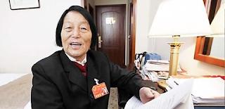 China's longest-serving lawmaker, Jilan, dies at 91