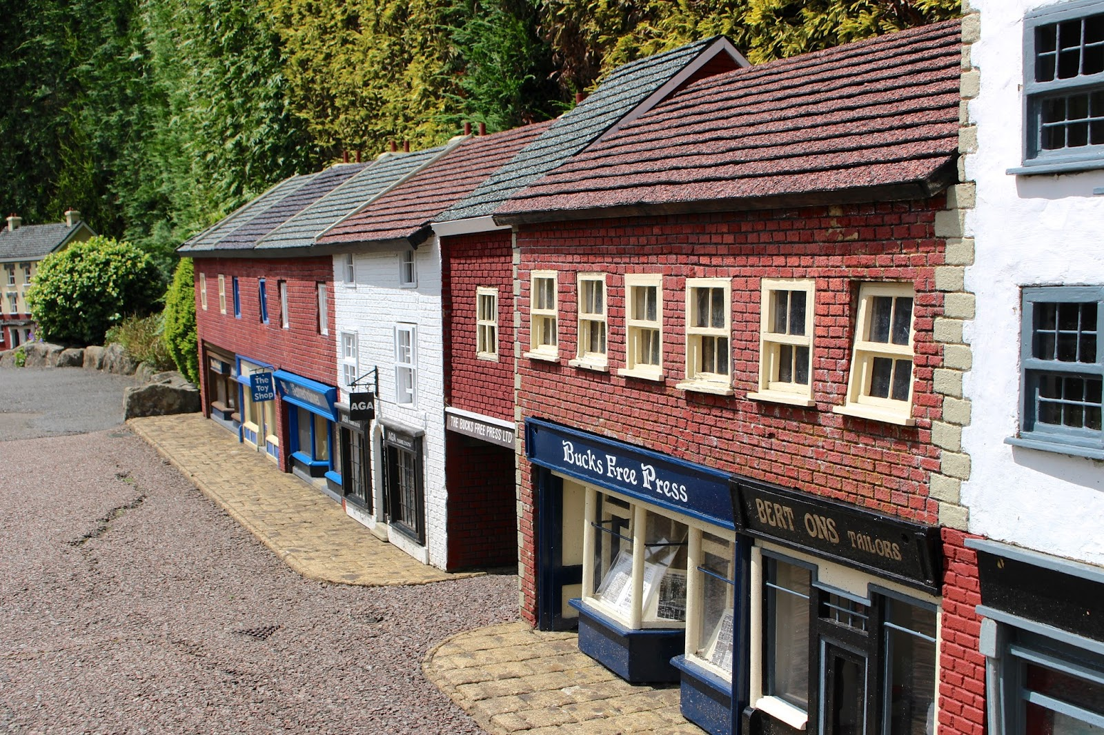 Bekonscot Model Village Bucks Free Press