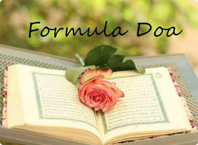 formula berdoa