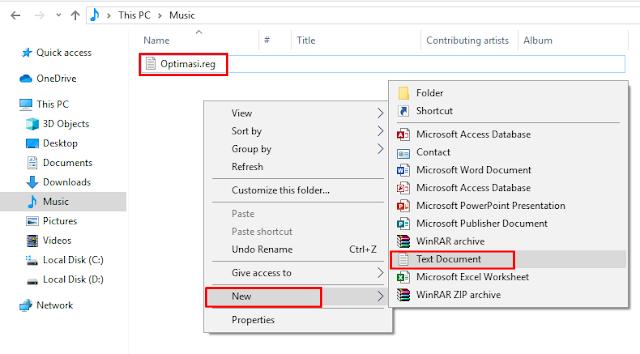 Cara Mempercepat Windows 10 dengan Regedit