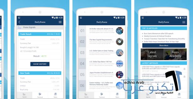 تقييم تطبيق DailyForex - توصيات وتوقعات فوركس شاملة ودقيقة