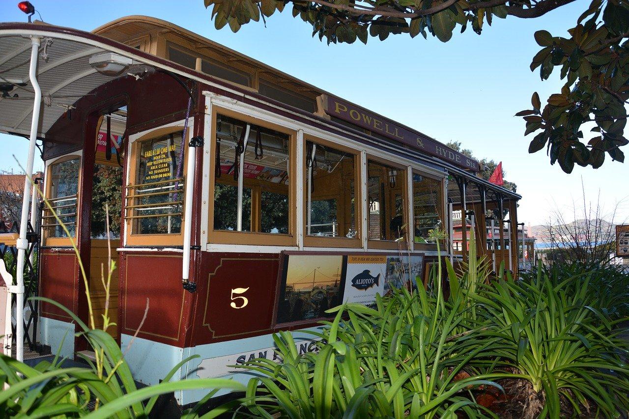 cable car powel hyde em San Francisco